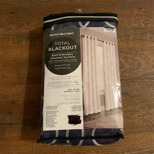 Design Solutions Brent Grommet Blackout Curtain